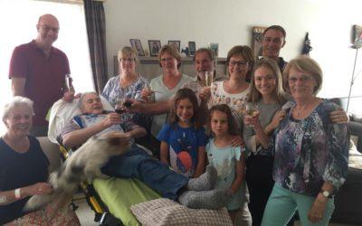 Familiebezoek in De Haan
